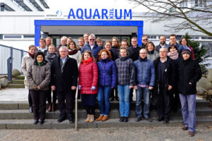 Participants of the Baltic Blue Biotechnology ALLIANCE Kick-Off meeting on 1 March 2016 in Kiel.